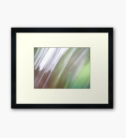 Abstract Airs Framed Print
