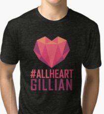 #AllHeartGillian - Pink  Tri-blend T-Shirt