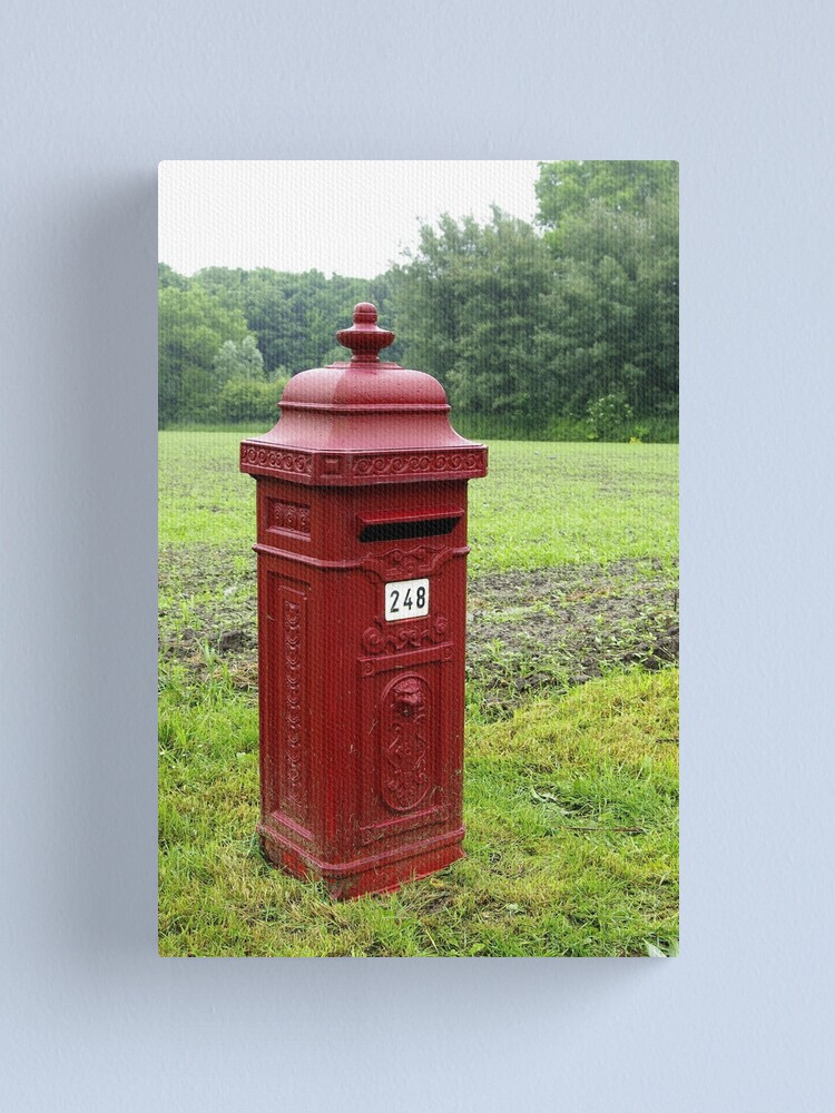 Alternate view of Any mail today? Canvas Print