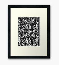 Peek-a-knit Framed Print