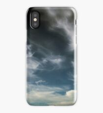 Wispy Horsetail Clouds Floating High iPhone Case/Skin