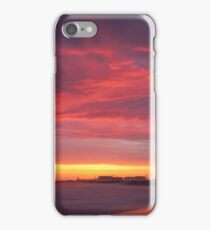 Red beach,  Nature, Seascape iPhone Case/Skin