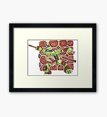 Donatello - Chibi Framed Print