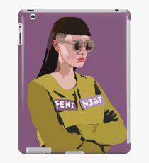 Feminist (Purple) iPad Case/Skin
