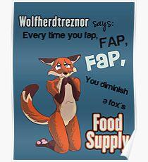 Don't Starve him! Poster