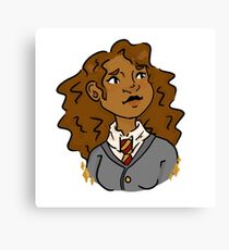 brightest witch of her age Canvas Print