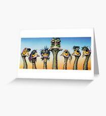 A Longneck & Six Stubbies Greeting Card