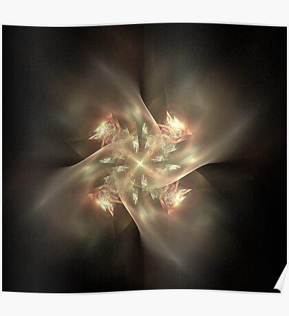 Ethereal Pinwheel Poster