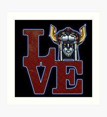 Love Voltron Art Print