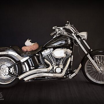 Angel on a Motorcyle by ames777