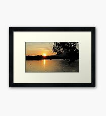 As The Day Begins Framed Print
