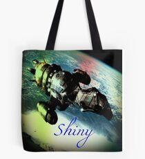 Shiny Firefly Tote Bag