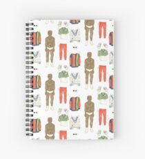 Lil Yachty Paper Doll Spiral Notebook