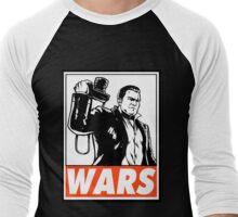 Frank West Wars Obey Design Men's Baseball ¾ T-Shirt