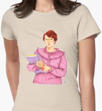 Barb from Stranger Things Portrait Womens Fitted T-Shirt