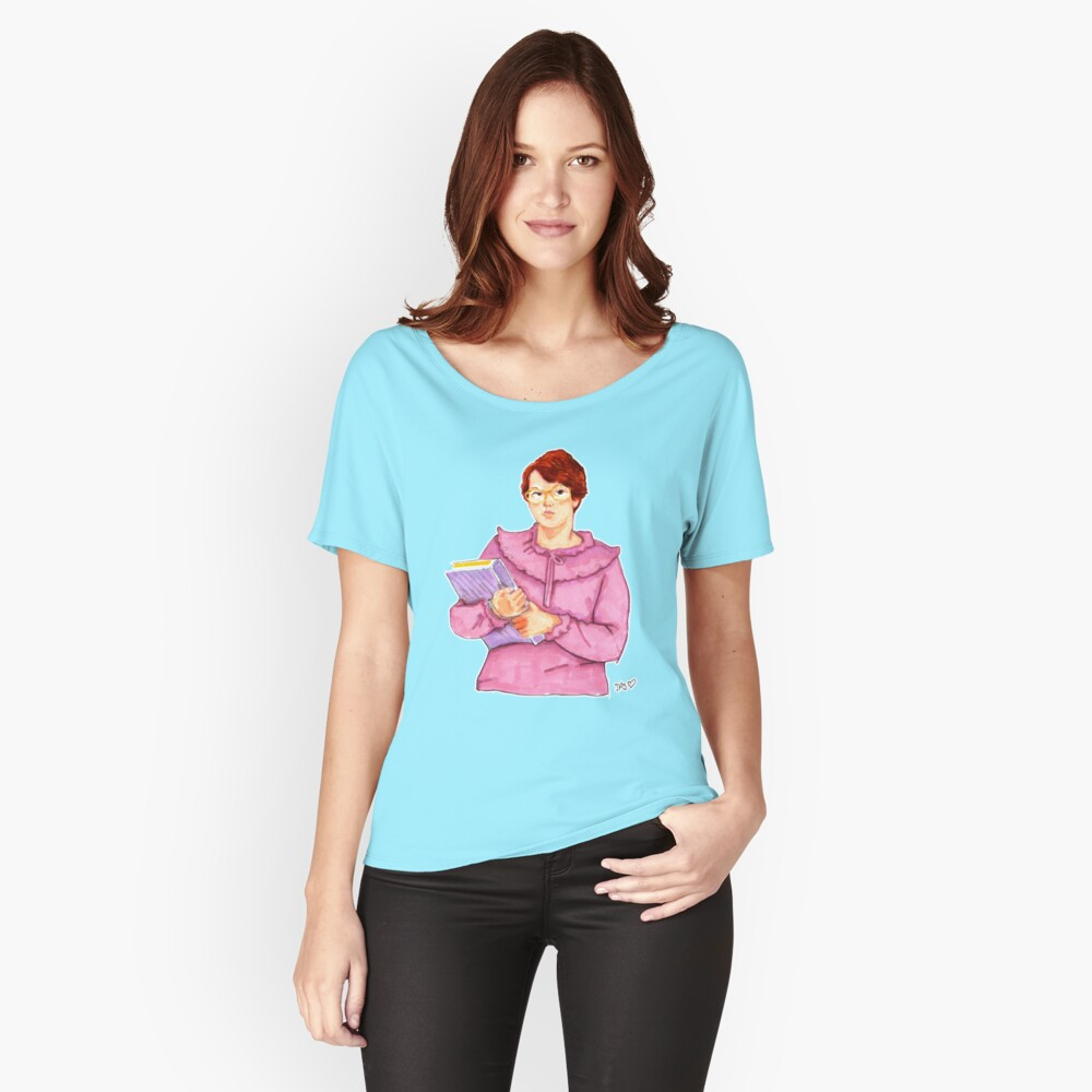 Barb from Stranger Things Portrait Women's Relaxed Fit T-Shirt Front
