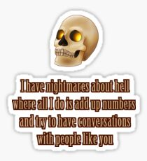 Bob's Nightmares Sticker