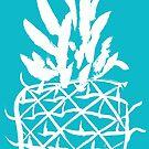 Standing pineapple by Caplin