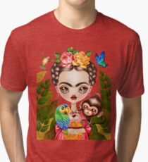 Frida Querida Tri-blend T-Shirt