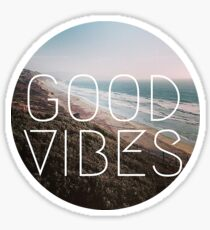 Pegatina Buenas vibraciones
