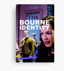 THE BOURNE IDENTITY Canvas Print