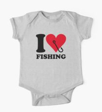 I love fishing One Piece - Short Sleeve
