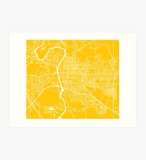 graphic about Printable Map of Iowa identified as Iowa Map Wall Artwork Redbubble