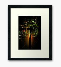 Tree of light Framed Print