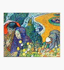 Memory of the Garden at Etten by Van Gogh Photographic Print