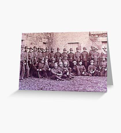 Returned Veterans of the Boer War Greeting Card
