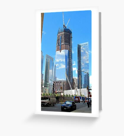 Reflections of Things to Come Greeting Card