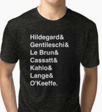 Women of Art History Tri-blend T-Shirt