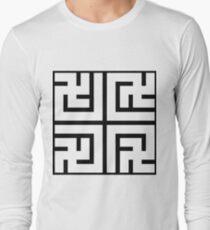 Nya Variant Tile Long Sleeve T-Shirt
