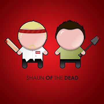 Shaun and Ed/ Shaun of the Dead by sammya89