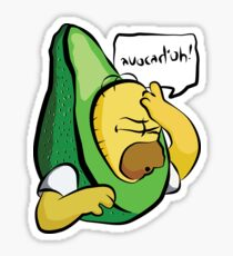 Avocad'oh - Homer Sticker