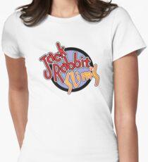 Jack Rabbit Slim's - Circle Logo Women's Fitted T-Shirt