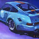 1974 Porsche 911 RSR GULF  by Yuriy Shevchuk