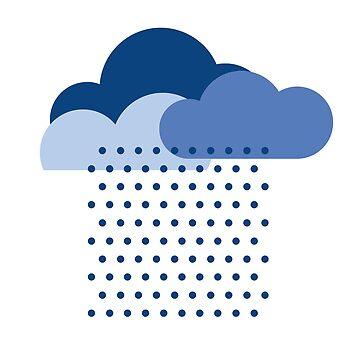 ¡Amamos la lluvia! clima, nube, agua, otoño, primavera, agua, gota de agua de boom-art