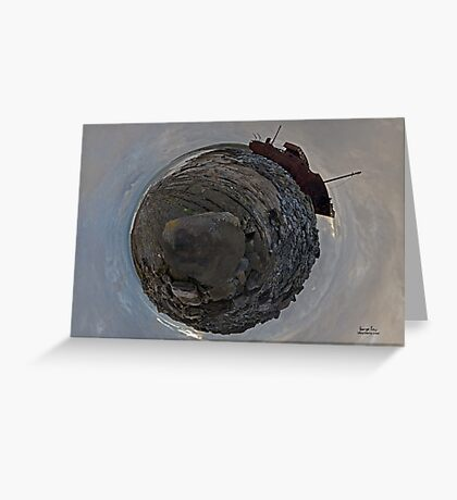 Shipwreck on Inisheer: The Plassey Wreck Greeting Card