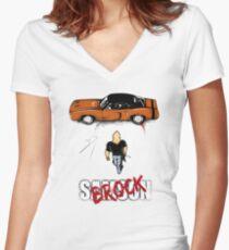 Samson Women's Fitted V-Neck T-Shirt