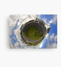 Tigh Ruairi - Inisheer Village (Sky out)  Canvas Print