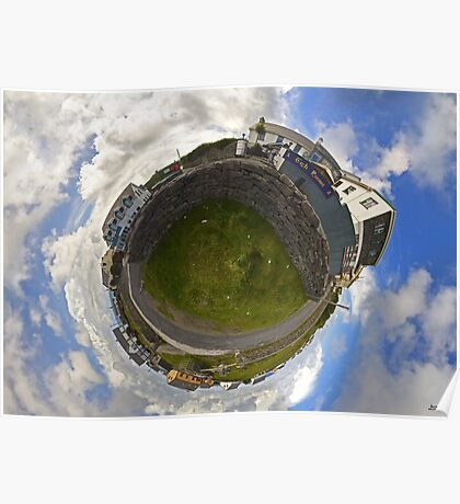 Tigh Ruairi - Inisheer Village (Sky out)  Poster