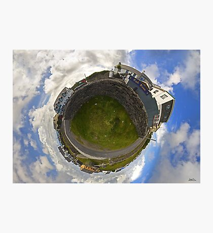 Tigh Ruairi - Inisheer Village (Sky out)  Photographic Print