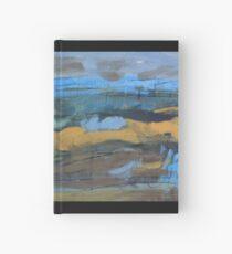 landscape blue Hardcover Journal