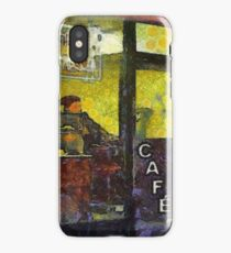 Cafe iPhone Case/Skin