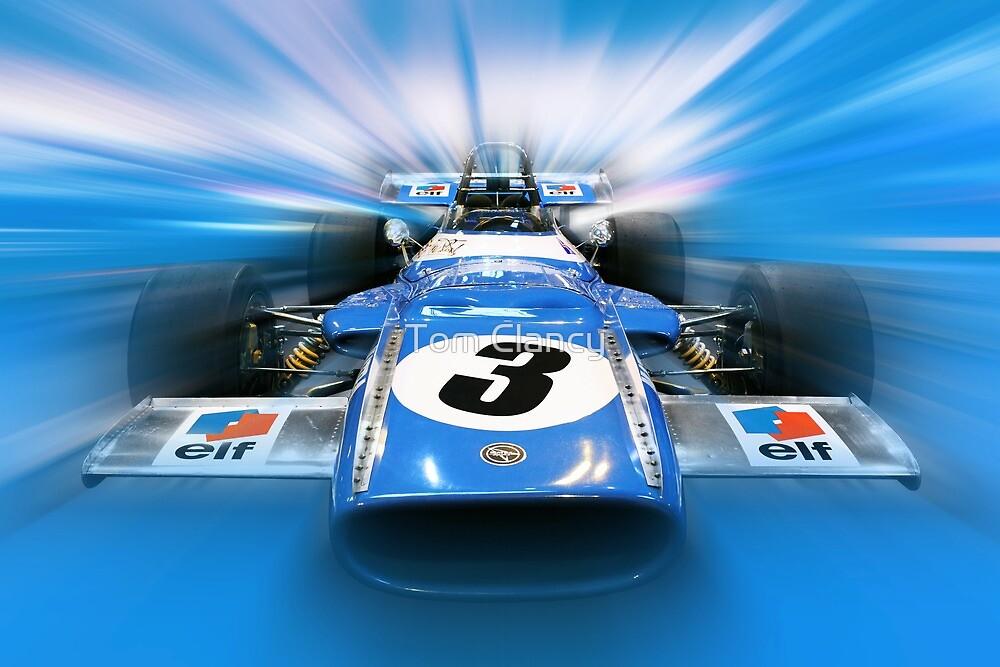Jackie Stewart - 1969 MS80 by Tom Clancy