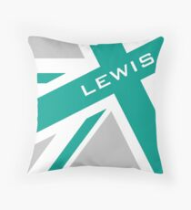 Lewis Hamilton - Team Colours Throw Pillow