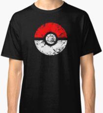 Pokeball - Grunge Classic T-Shirt