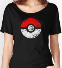 Pokeball - Grunge Women's Relaxed Fit T-Shirt