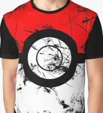 Pokeball - Grunge Graphic T-Shirt
